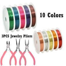 Copper, varietyofcolor, usewire, Jewelry Making