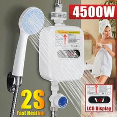 Mini, Head, showerheater, Waterproof