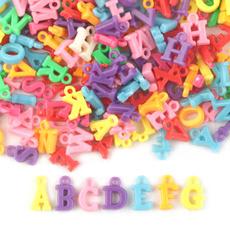 acrylicbead, plasticpendant, diybracelet, letterbead