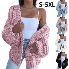 casual coat, Plus Size, Winter, sweater coat