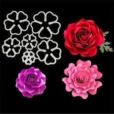 Flowers, cutscrapbooking, Stamps, craftstamp