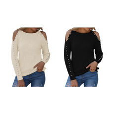 Fashion, pulloversweaterswomen, knitted, Women's Fashion