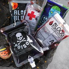 drinkbag, Cocktail, Halloween Costume, bloodbag