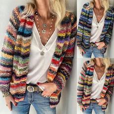 Pocket, cardigan, sweaters for women, Sleeve