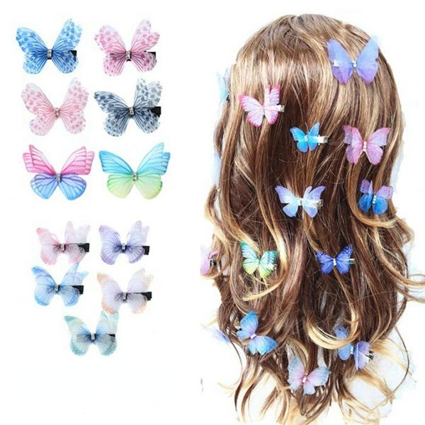 ladieshairpin, butterfly, Fashion, Jewelry