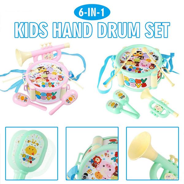 Toy, drum, mallet, drumset