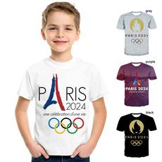 paris2024, Fashion, Sleeve, tshirtforgirl