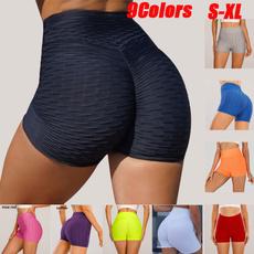 Summer, trousers, high waist shorts, Fitness