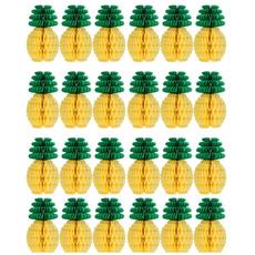 diypapercraftsmanship, Hawaiian, pineapplehoneycomb, decoration