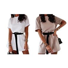 oversizedtshirtdres, Fashion, Dress, short sleeves