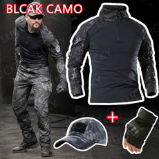 Outdoor, Cotton T Shirt, Hiking, Army
