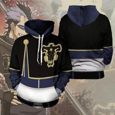 hooded sweatshirt, Fashion, Cosplay, Clover