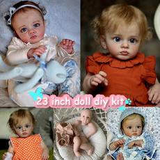 cute, Dolls & Accessories, doll, unpaintedblankdoll