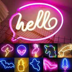 art, Home & Kitchen, ledneonsignlight, Neon