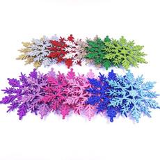 Plastic, holidaydecorationsnowflake, Christmas, partydecorationsnowflake