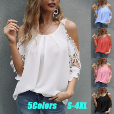 blouse, Summer, Plus Size, Shirt