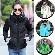 Jacket, Plus Size, Winter, Cotton-padded clothes