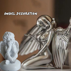 angeldecorationresin, Cap, art, Angel