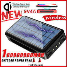 Outdoor, Mobile Power Bank, Powerbank, Wireless charger