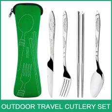 Forks, Bikes, Bathroom, Outdoor