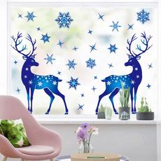 artwall, elk, Christmas, Glass