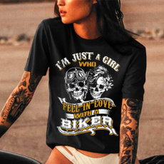 Fashion, Love, motorcycleshirt, skull