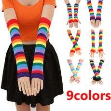 rainbow, softsleeve, Outdoor, girlsglove