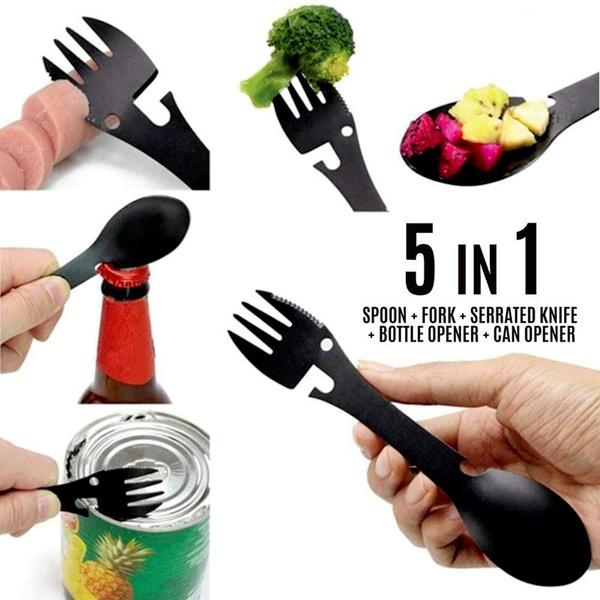 Forks, Steel, camping, bottleopener