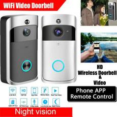 wirelessvideodoorbell, Door, Bell, wirelessvideosender