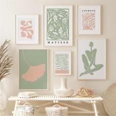 living, Decor, Flowers, art