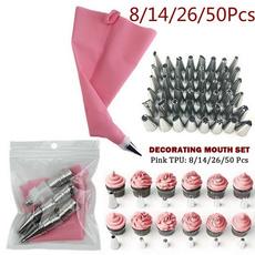pink, caketool, icingnozzlescake, bakingtoolsaccessorie
