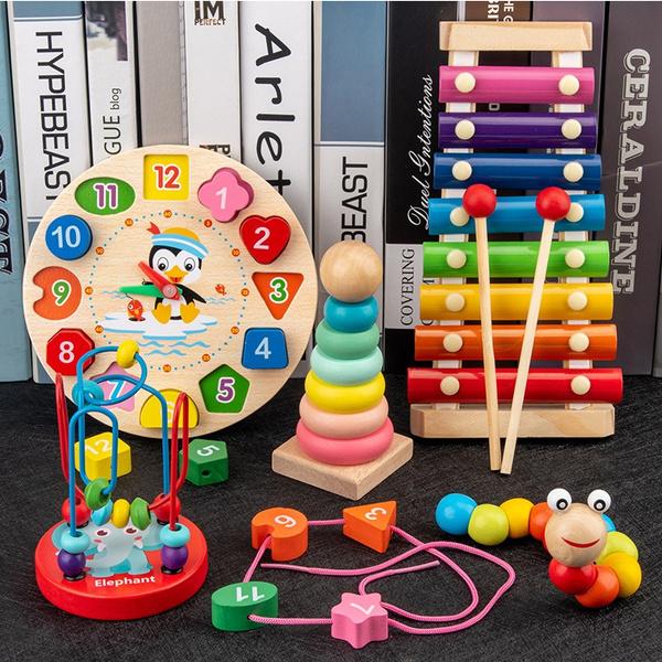 Beaded, Toy, earlylearningtoy, Clock