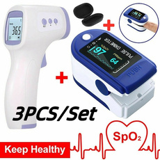 oximetersfingertippulse, thermometerbodytester, Monitors, Battery