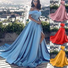 Strapless Dress, Plus Size, Elegant, Dress