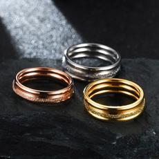 Steel, ringsformen, Fashion, Stainless Steel