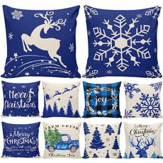 Blues, pillowcasecushion, pillowcasehome, Christmas