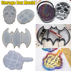 Box, Storage Box, Bat, Jewelry
