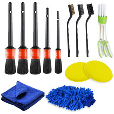 cleaningbrushset, carbrushe, leather, Cars