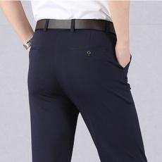 Gray, trousers, Elastic, pants
