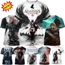 Summer, Video Games, Assassin's Creed, Necks