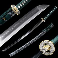 Steel, warrior, wolfknife, blackleatherropewinding