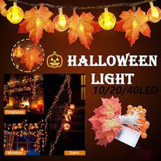 fairy, thanksgivingdecor, maple, led