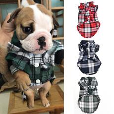 plaid shirt, dog clothing, dogsclothe, plaid