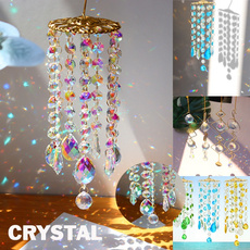 crystalpendantdecor, crystal pendant, rainbow, crystalrainbowchaser