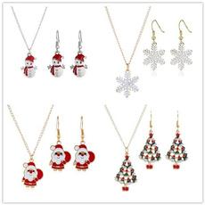cute, Christmas, Gifts, Stud Earring