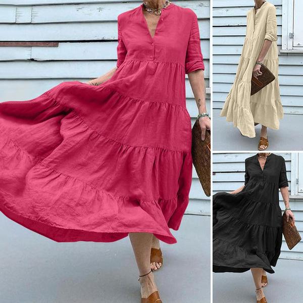 Plus Size, Cocktail, Women Blouse, long dress