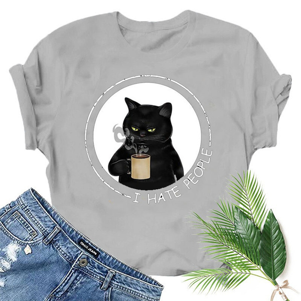 Summer, Coffee, Funny T Shirt, letter print