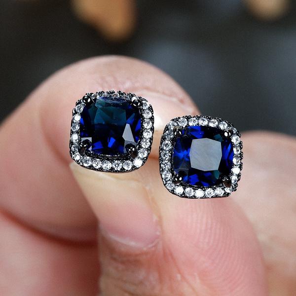 Blues, goldplated, DIAMOND, Jewelry