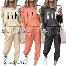 Two-Piece Suits, fashion2set, Sleeve, loose shirt