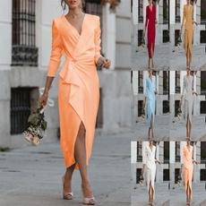 pencil, pencil skirt, party, long sleeve dress
